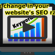 Track change in your website's SEO rank