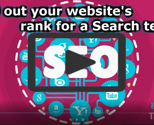 Find out your website's rank for a Search term