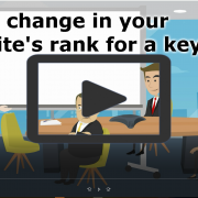 Track change in your website's rank for a keyword