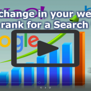 Track change in your website's rank for a Search term