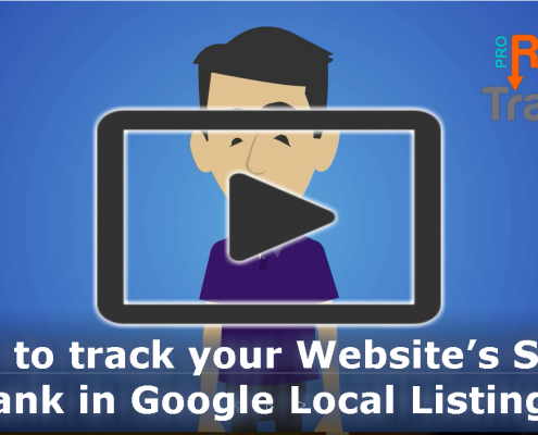 How to track your Website's SEO Rank in Google Local Listings?